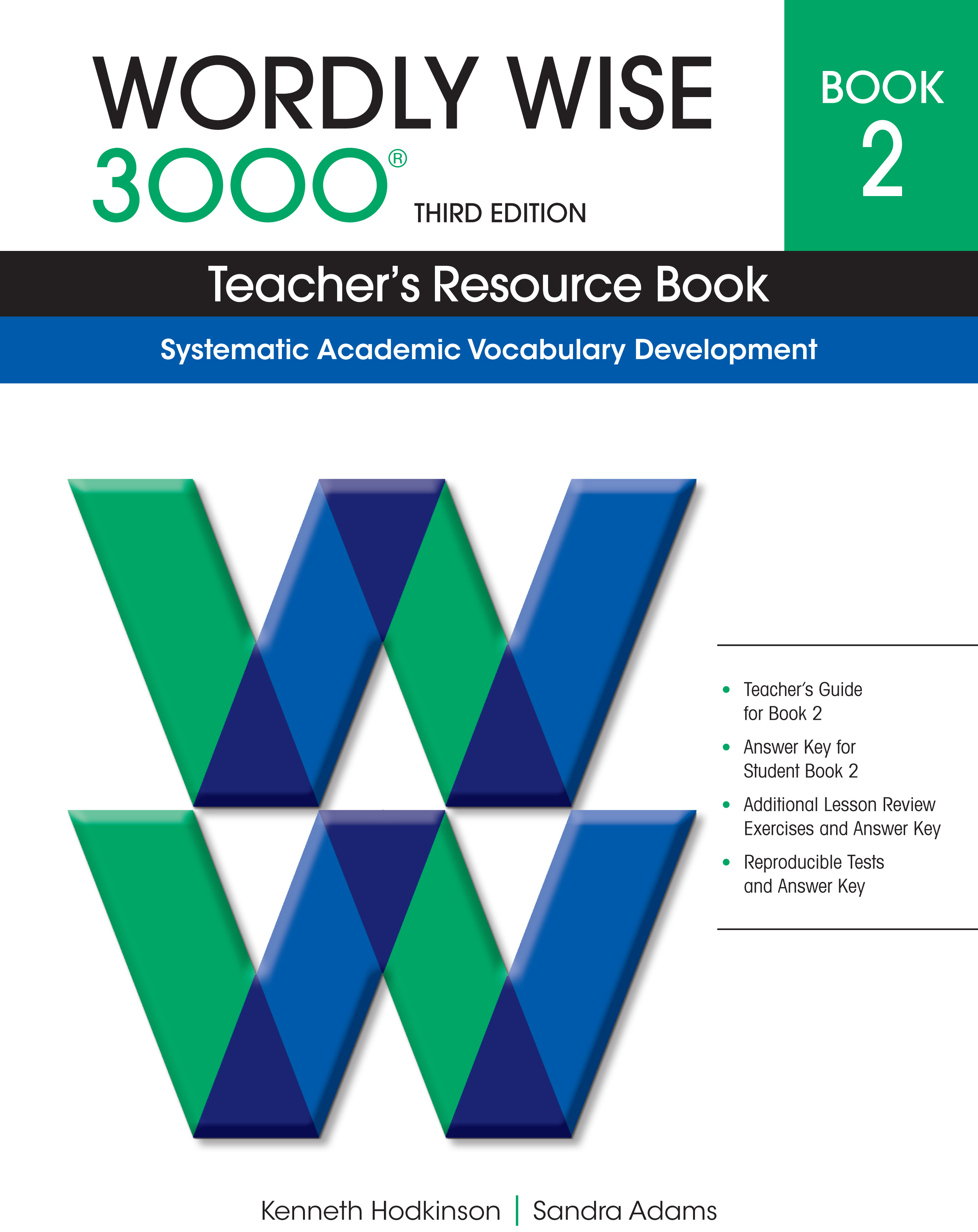 Wordly Wise 3000® 3rd Edition Teacher's Resource Book 2