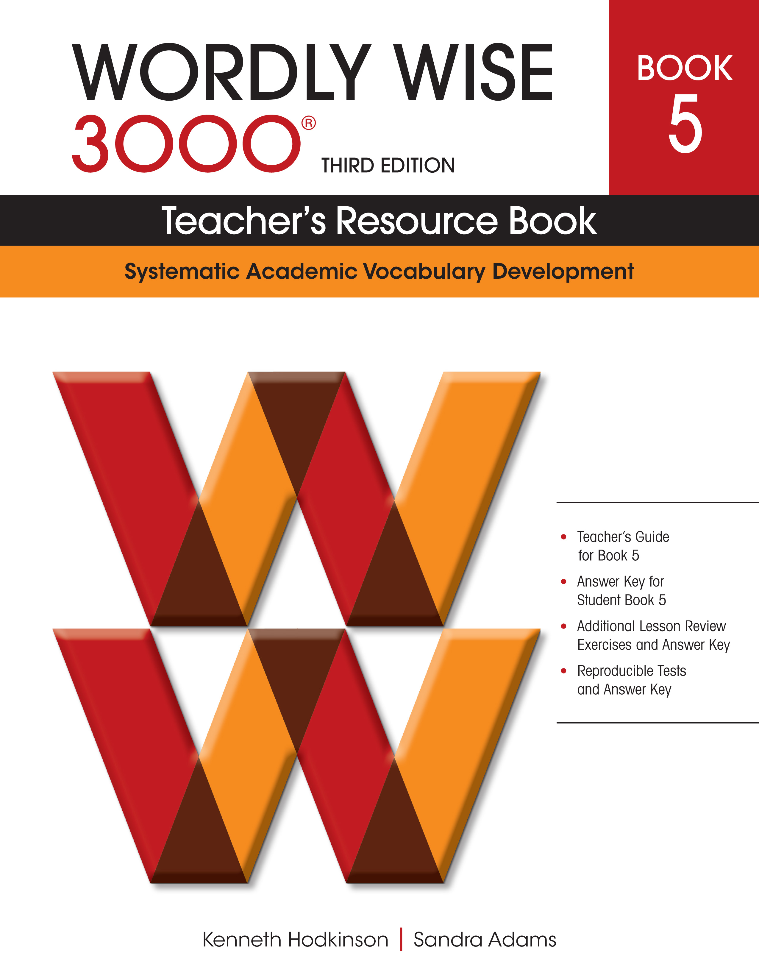 Wordly Wise 3000® 3rd Edition Teacher's Resource Book 5