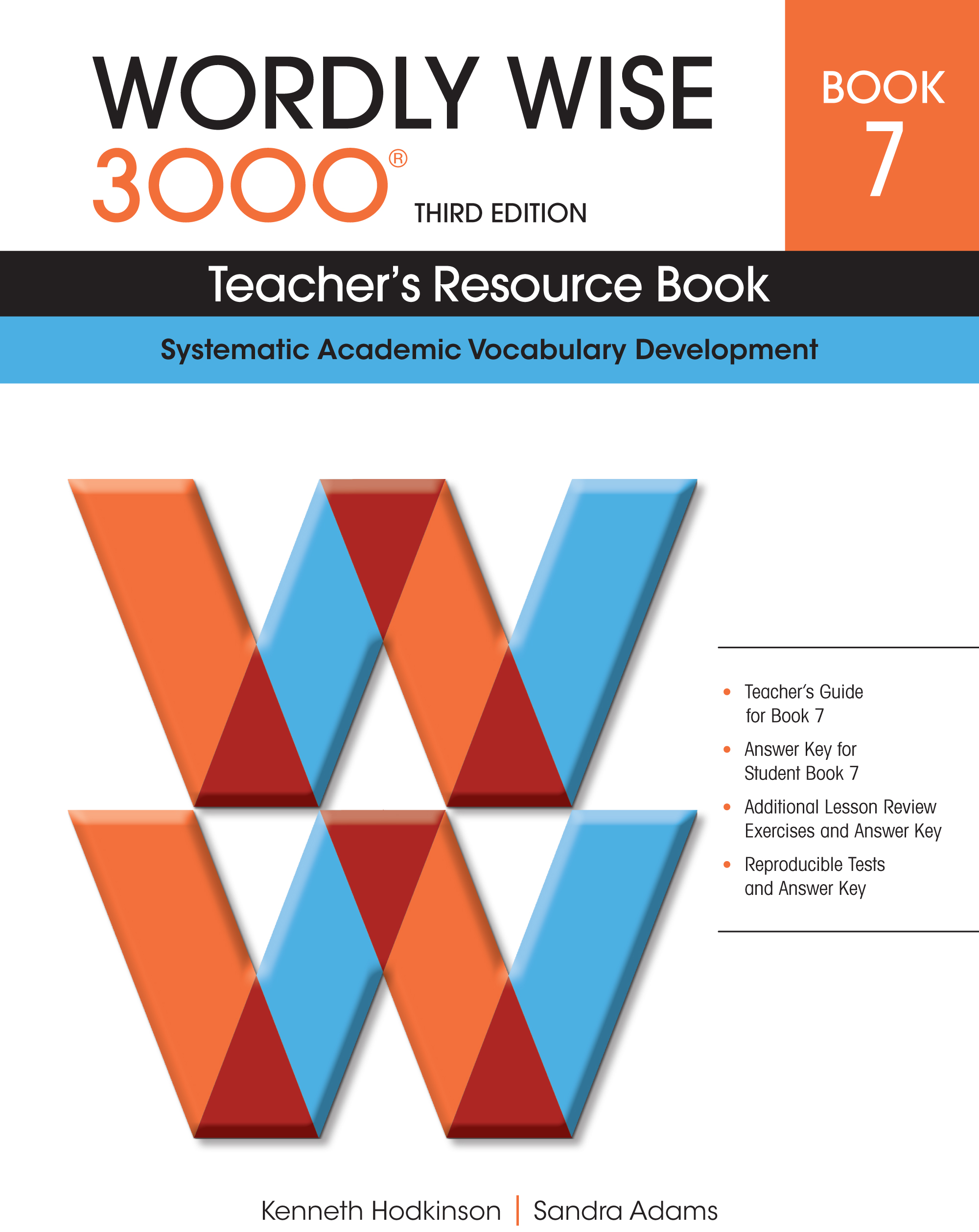 Wordly Wise 3000® 3rd Edition Teacher's Resource Book 7