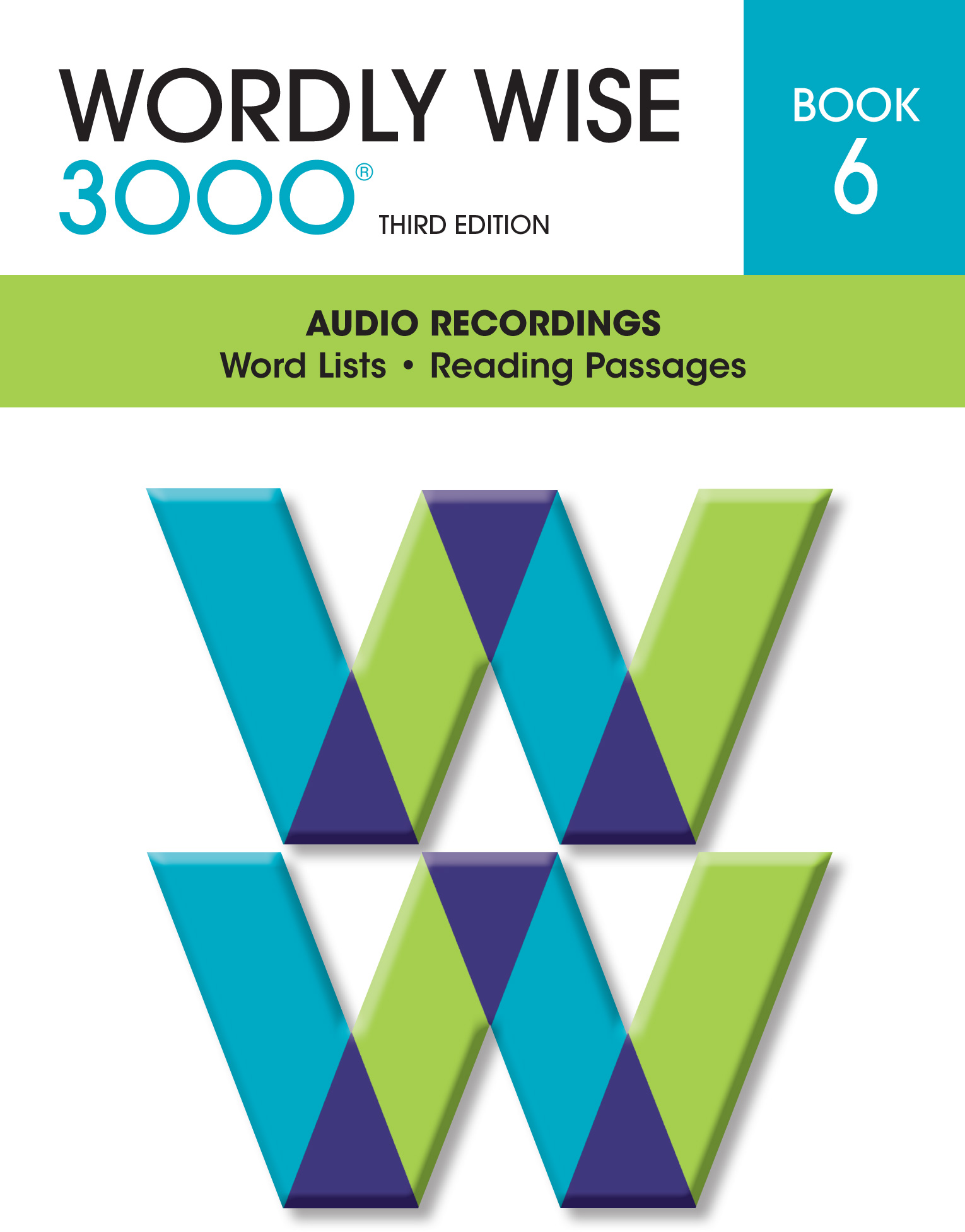 Wordly Wise 3000® 3rd Edition Audio CD Book 6 (Set of 3)