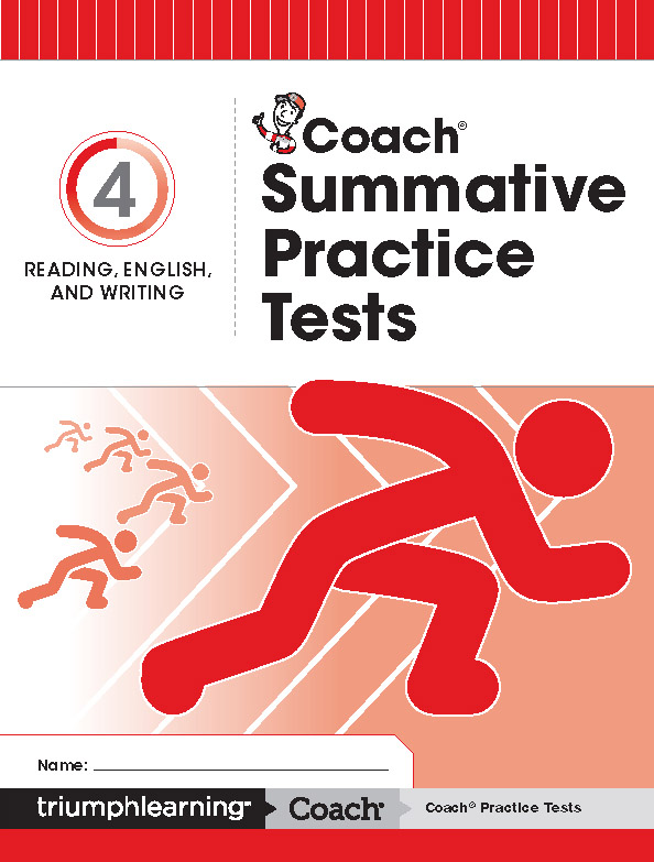 Coach Reading, English, and Writing Summative Practice Tests