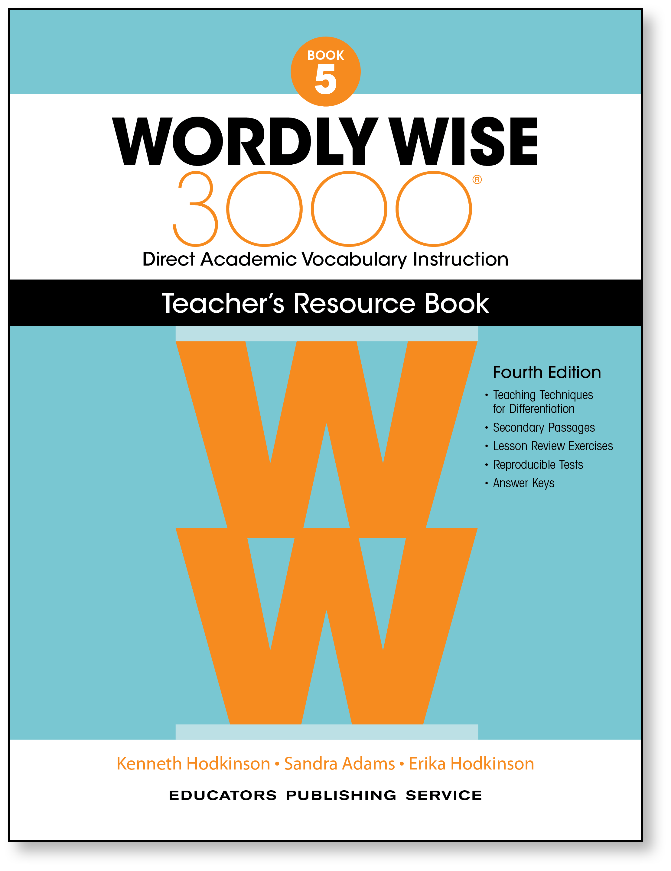 Wordly Wise 3000® 4th Edition Teacher\'s Resource Book 5 | School ...