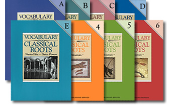 Vocabulary From Classical Roots book covers